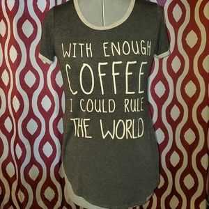 French Pastry Coffee Saying Tee
